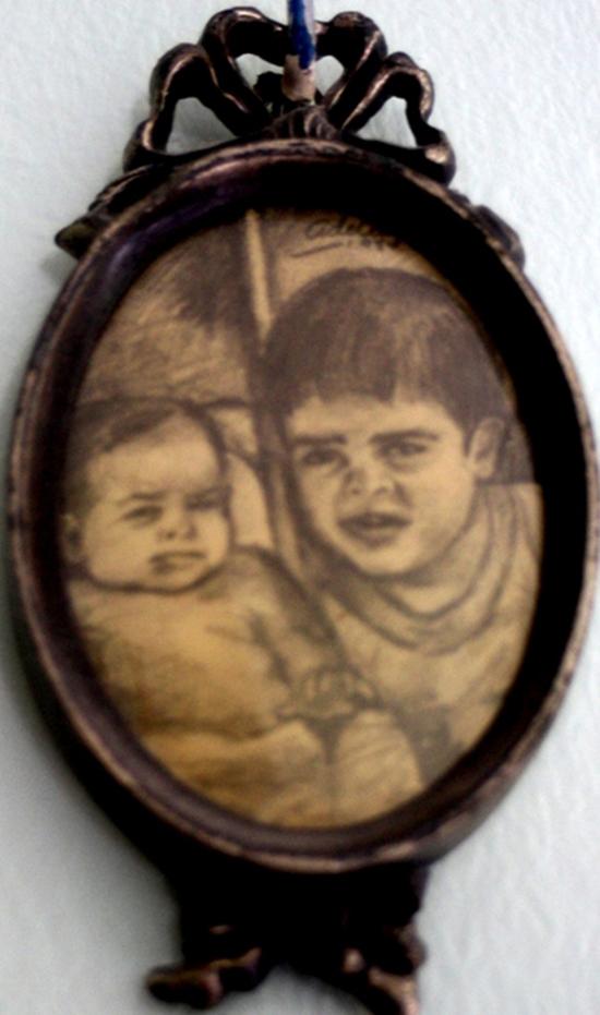1986Blanca y Eduardo.-microformato ovalado 1986