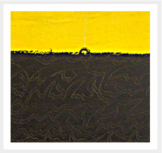 Arco en el horizonte Serie ExteriorInteriorExpresionismo 60 x 73 cm 2007 Tecnica Mixta sobre lienzo.peq