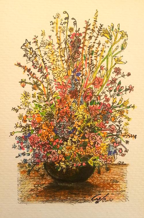 Bodegon floral