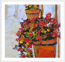 Flor y Flores Fuera de Series 100 x 81 cm 2008 T Mixta s lienzo