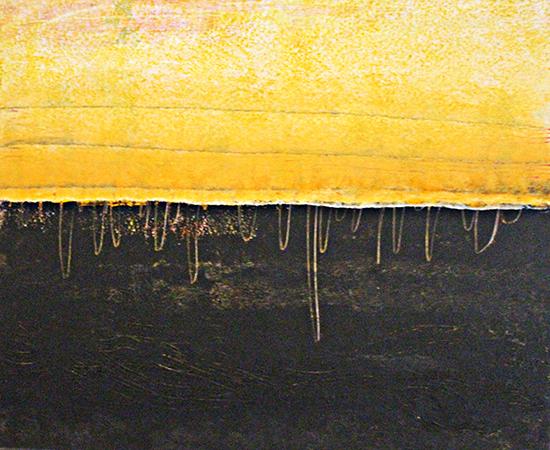 Sin arco en el horizonte  Serie ExteriorInteriorExpresionismo 60 x 73 cm 2010 Tecnica Mixta sobre lienzo.