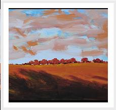 Sombra alargada Serie Los Guardianes del Bosque 46 x 55 cm 2012 T Mixta s lienzo Coleccion Matilde Muro Castillo Trujillo